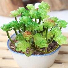 New Artificial Plants Succulent DIY Decorative Fake Plant Faux Home Decorations