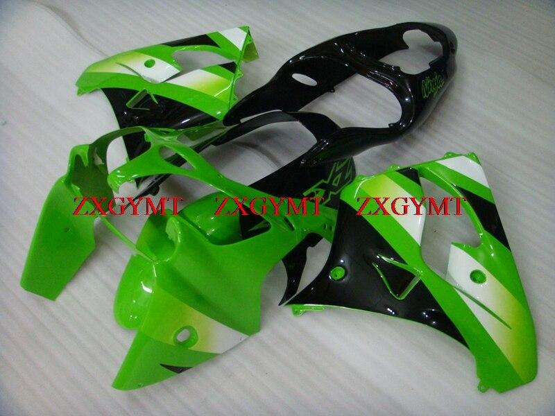 Motorcycle Fairing for Zx9r 2000 - 2001 Plastic Fairings Zx 9r 2001 Green Silver Fairing Zx 9r 2000Motorcycle Fairing for Zx9r 2000 - 2001 Plastic Fairings Zx 9r 2001 Green Silver Fairing Zx 9r 2000