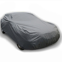 TOYL XL Extra Large Size Full Car Cover UV Breathable Rain Waterproof Outdoor Indoor