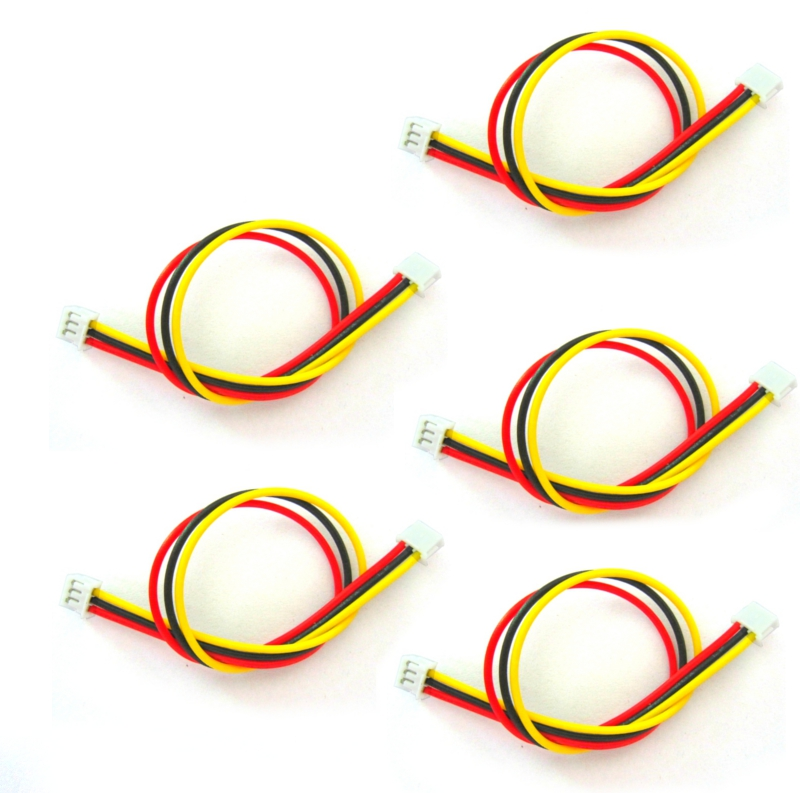 5 PCS 150mm/15cm JST-ZH 1.5mm 3P 3 Pin AV Cable For FPV Camera Transmitter RC Drone