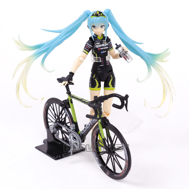 VOCALOID Racing Miku 2015 TeamUKYO Support Ver Figma Action Figure # 307