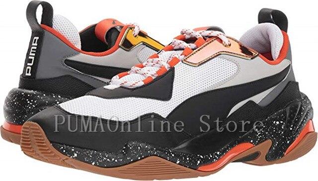 ac86d5c29b5 2018 Baru Kedatangan Puma Thunder Spectra Pria Bernapas Sepatu Badminton  Sepatu Size40-45