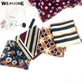 2017 50cm*50cm Twill Silk Women Silk Square Vintage Metal Fashion Print Silk Scarf Femal High Quality Retro Wearzone Shawl