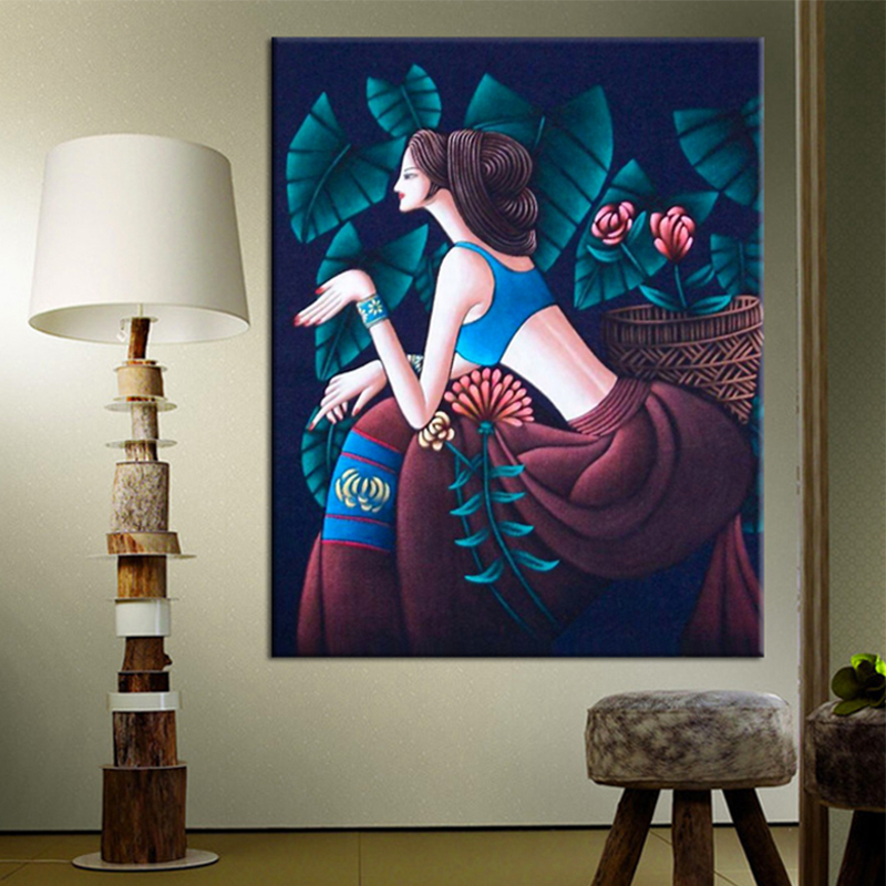Classical Hand Stitch Precision printing Cross stitch Painting For Embroidery Kits Cross Stitching High Quality