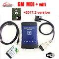 Top venda GM MDI wi-fi hdd 2017.2 optinal Multiple Interface de Diagnóstico gm mdi Ferramenta de Diagnóstico com frete Grátis DHL