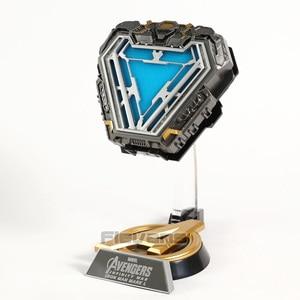 Image 3 - Iron Man MARK L MK50 Arc Reactor with LED Light 1/1 Prop Replica PVC Figure Model Toy