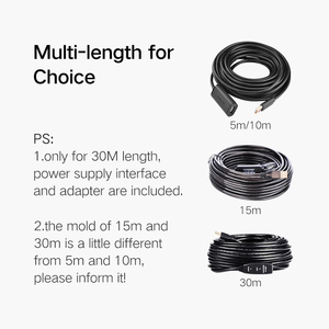 Image 5 - Ugreen us121 usb 2.0 amplificação do sinal do cabo de extensão conectado sem fio lan velocidade linha de dados 5/10/15/20/30 m