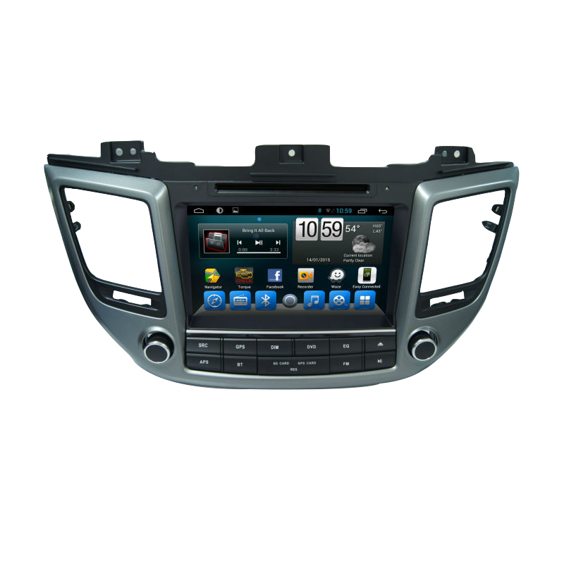 for 8 android 4 4 car dvd gps 3g wifi for hyundai tucson. Black Bedroom Furniture Sets. Home Design Ideas