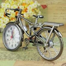 Vintage Arabic Numeral Bicycle Shape Clock