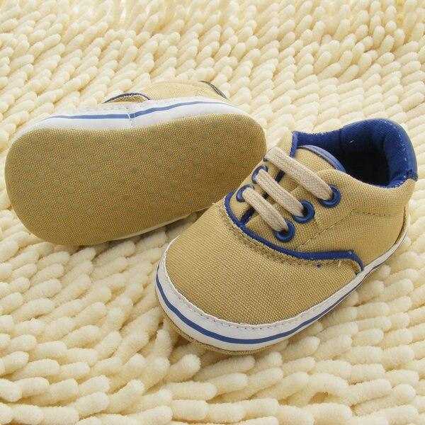 0-18 M Kleinkinder Weiche Sohle Krippe Schuhe Kleinkinder Baby-lace Up Sneaker Prewalker Schuhe Neue Ankunft