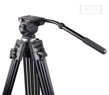 Professional DV DSLR Video Camera Tripod Fluid Head WF-717 for 5D Mark III 5DS 6D D600 D750 D810 D810A D4 D5