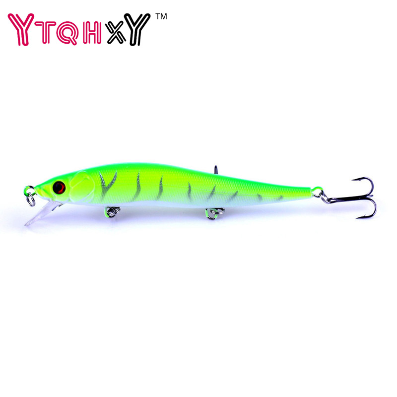 1Pcs 11.5cm/13g Fishing Lure Minnow Hard Bait with 3 Fishing Hooks iscas artificiais para pesca crankbait fishing tackle YE-291 lushazer fishing lure minnow bait 18g hard lures carp fishing iscas artificiais 2016 wobbler crankbait cheap sea fishing tackle