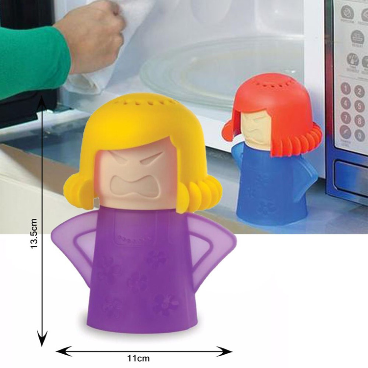 Angry Mama Microwave Oven Steam Cleaner