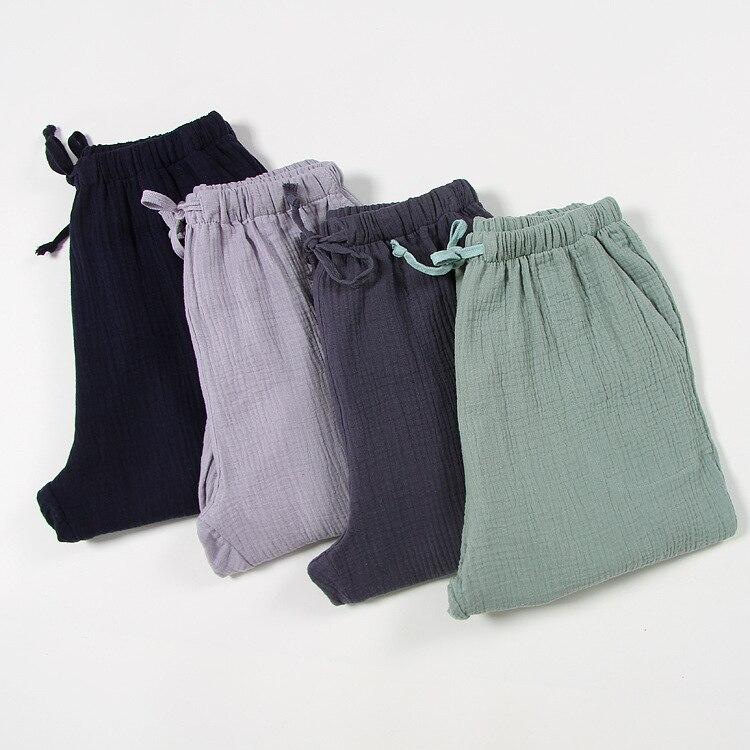 Plus Size Cotton Soft Spring Summer Women\\'S Sleep Bottoms Pajamas Bottoms Sleepwear Pants Loose Pajamas Women Pajamas Pants