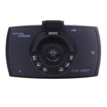 2.4 Pulgadas LCD de Coches DVR VGA HD Completo 1080 P 6 Led de Visión Nocturna Cámara Del Coche Del Registrador Del Coche de 120 Grados dvr