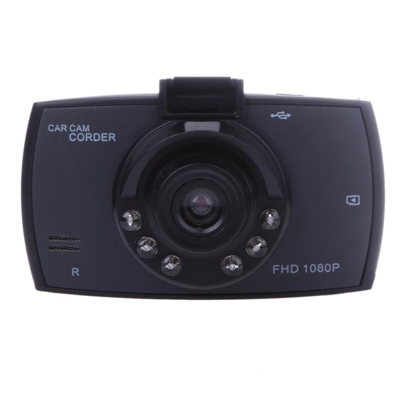 Prix pour 2.4 Pouce LCD Voiture DVR VGA Full HD 1080 P 6 Led de Vision Nocturne De Voiture Caméra Enregistreur 120 Degrés De Voiture dvr