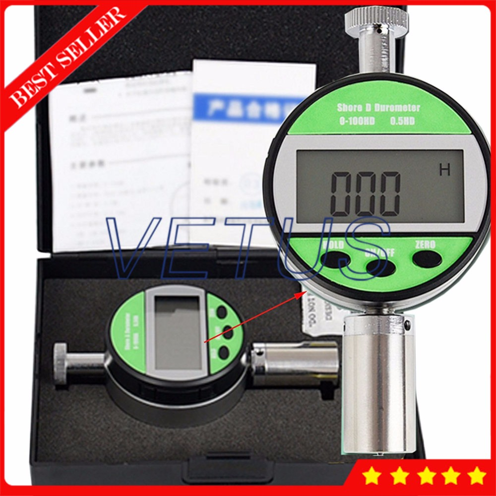 Portable Digital Hardness Tester Meter Handheld LX-D-Y shore Durometer free shipping digital shore hardness tester meter shore durometer rubber hardness tester standards din53505 astmd2240 jisr7215