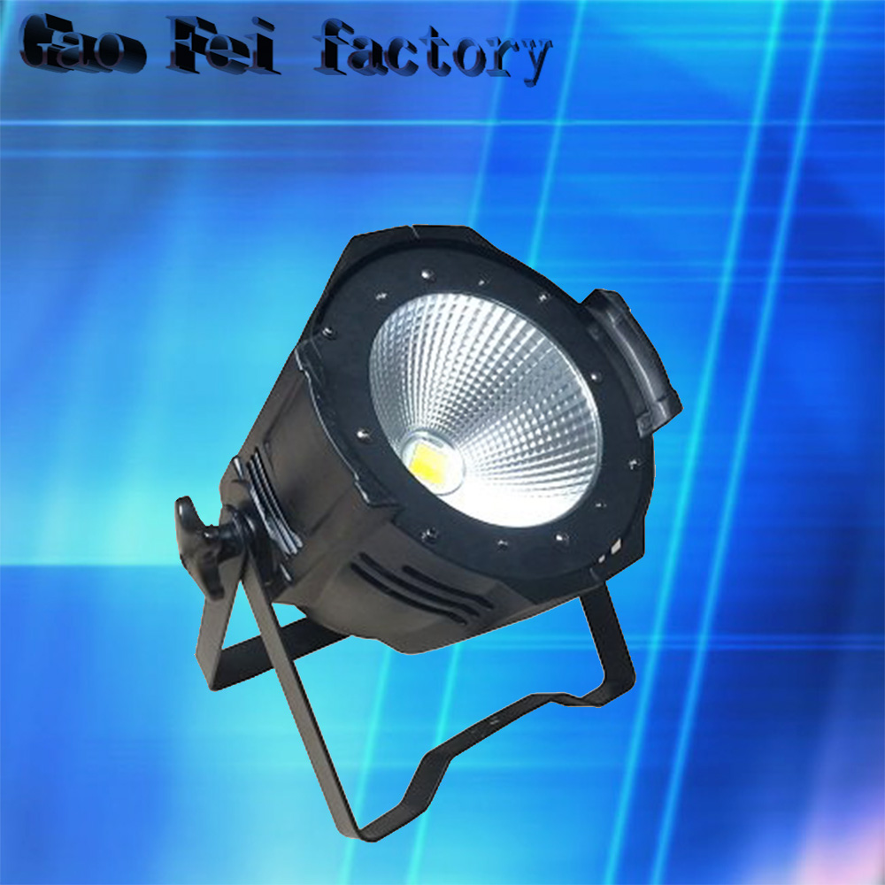 100W COB LED Par Can/2in1 White+Warm white 2in1 DMX 100w COB LED Par/LED dmx wash Stage Light /ktv dj disco lighting show plaza light stage blinder auditoria light ww plus cw 2in1 cob lamp 200w spliced type for stage