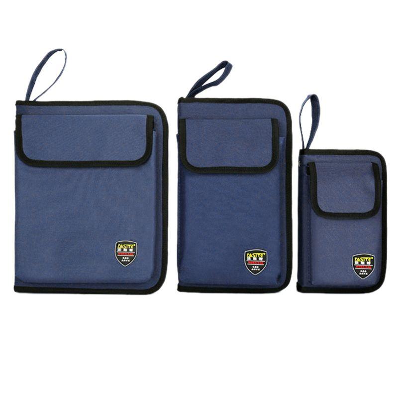 Professional Electricians Hard Plate Tool Kit Bag Storage Case Multifunctional Pocket Organizer Waterproof Oxford 3 Sizes