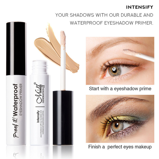 Eyes Makeup Primer Base Eyeshadow Primer Easy Wearing Waterproof Long-lasting Concealer 669 1