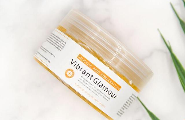 VG Salicylic acid cream mask remove acne print black head exfoliate and shrink pores
