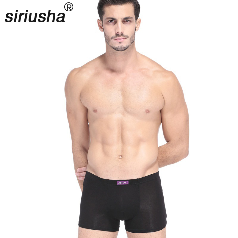 Wholesale Four Gift Box Mens Underwear Pants Young Sexy Summer Four Important U Convex Angle Pants S31