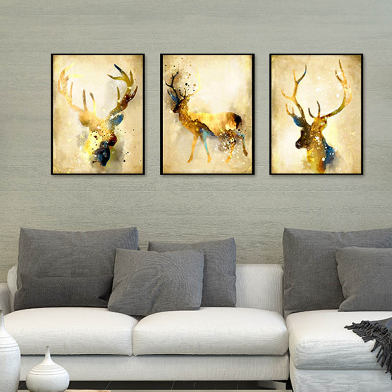 Abstract Canvas Paintings for Living Rooms