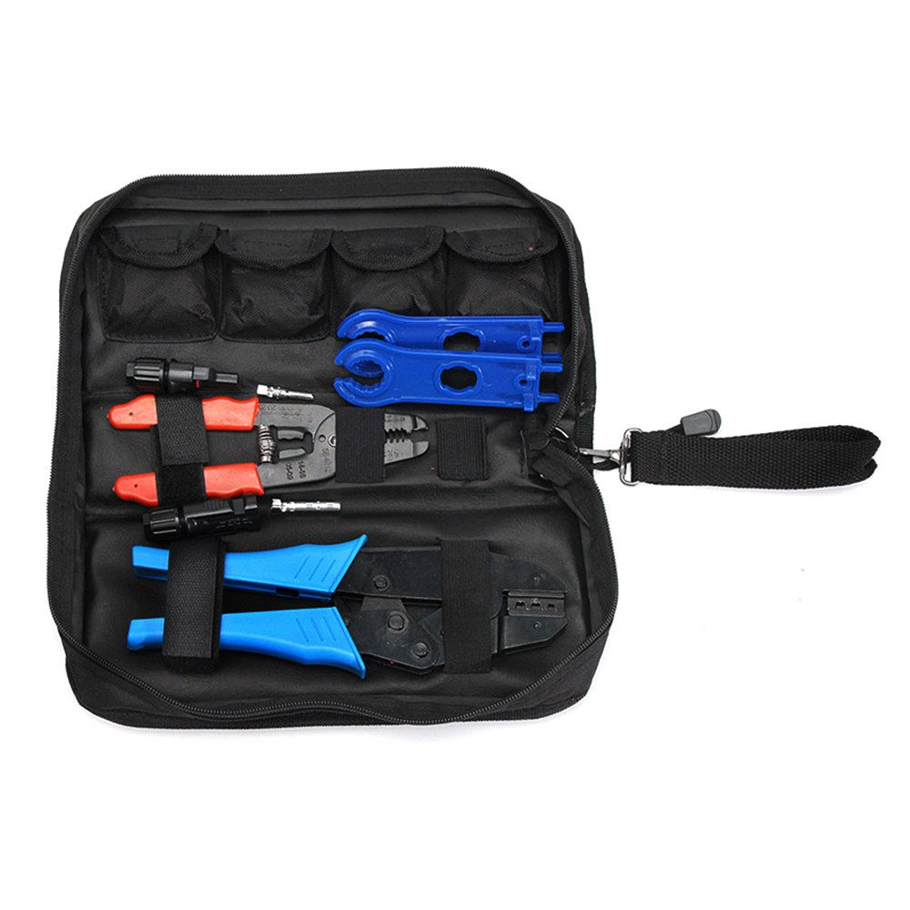 multitool MC4 Solar Cutting Crimping Tool wire Crimping Plier wire stripper Hand Crimper Side Cutter Photovoltaic
