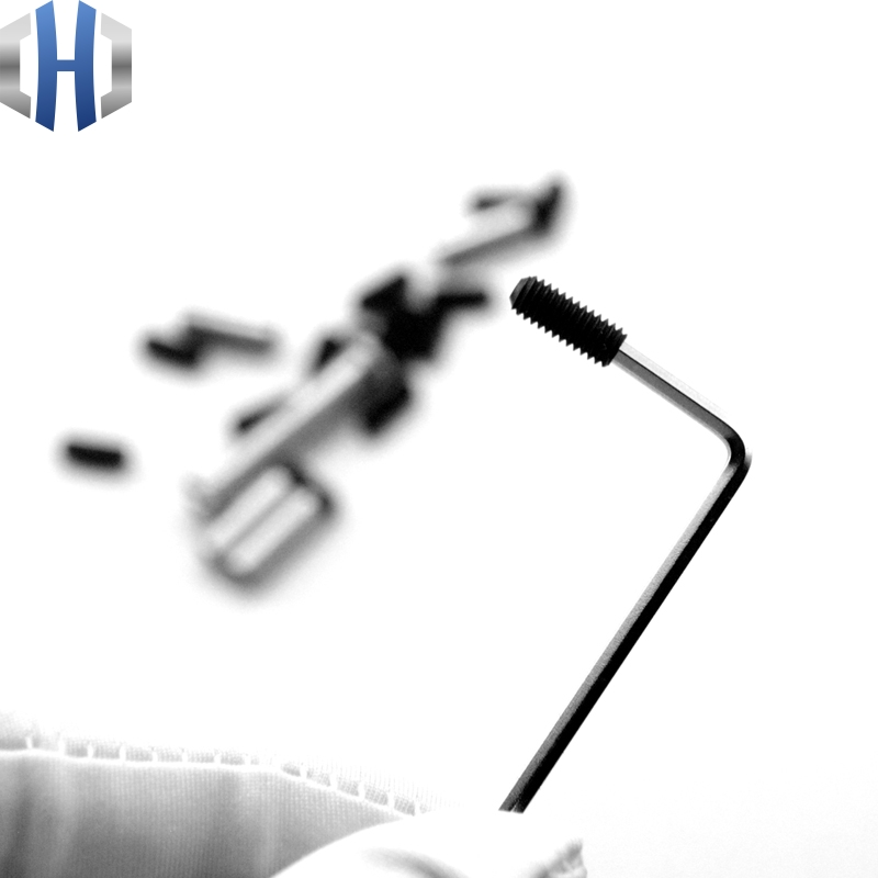 12.9-level Headless Hexagon Socket Screws Long Screw Barrel M4 Tooth Tube Screw Extension Screws Installation 10pcs