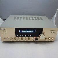 NEW 220V AV 201 500W 5.1 channel home AV high power amplifier 5.1 professional home theater HIFI Karaoke OK amplifier