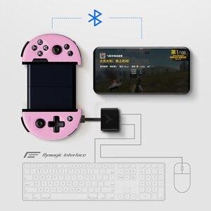 Image 4 - Flydigi pubg 대구 컨트롤러 모바일 게임 wee 2 모션 감지 게임 패드 안드로이드 텔레스코픽 블루투스 컨트롤러 геймпад