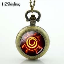 Naruto Seal Pocket Watch