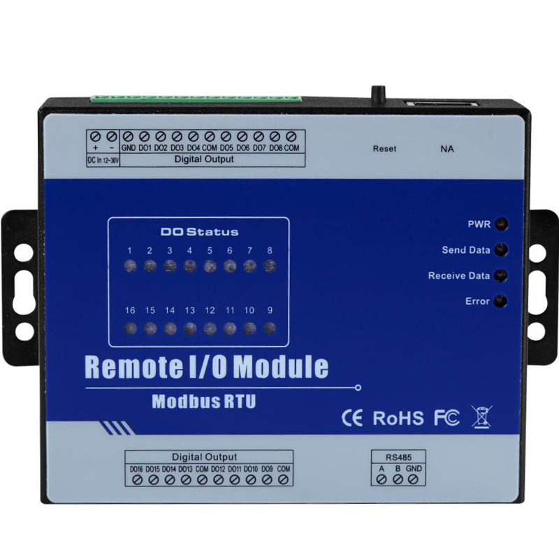 Modbus Remote IO Module 16 Digital Output Relay output type high precision data acquisition module M420