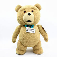 high quality goods lovely bowtie ted bear plush toy Christmas gift h164