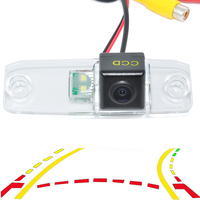 Dynamic Trajectory Rear View Parking Camera For Hyundai Elantra Tucson Kia K3 Sorento Elantra with 4LED Night Vision Waterproof