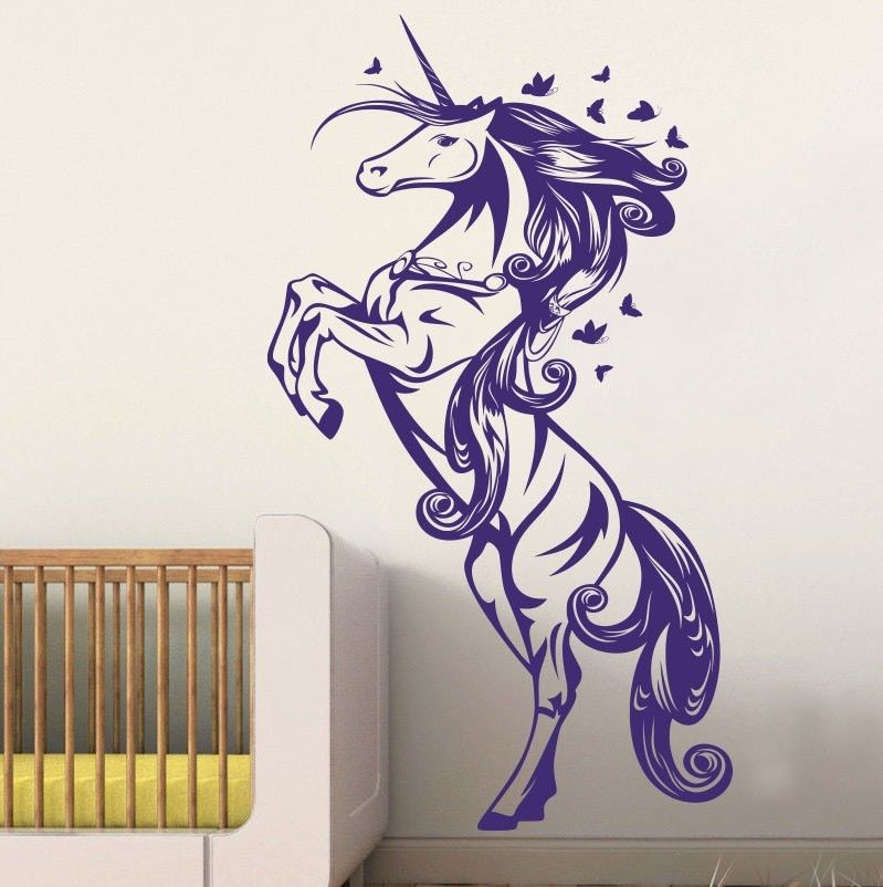 Online Buy Wholesale Unicorn Wall Stickers From China
