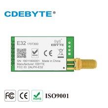 E32 170T30D lora 30dbm longo alcance sx1278 170mhz 1 w sma antena vhf transmissor sem fio transmissor receptor módulo rf