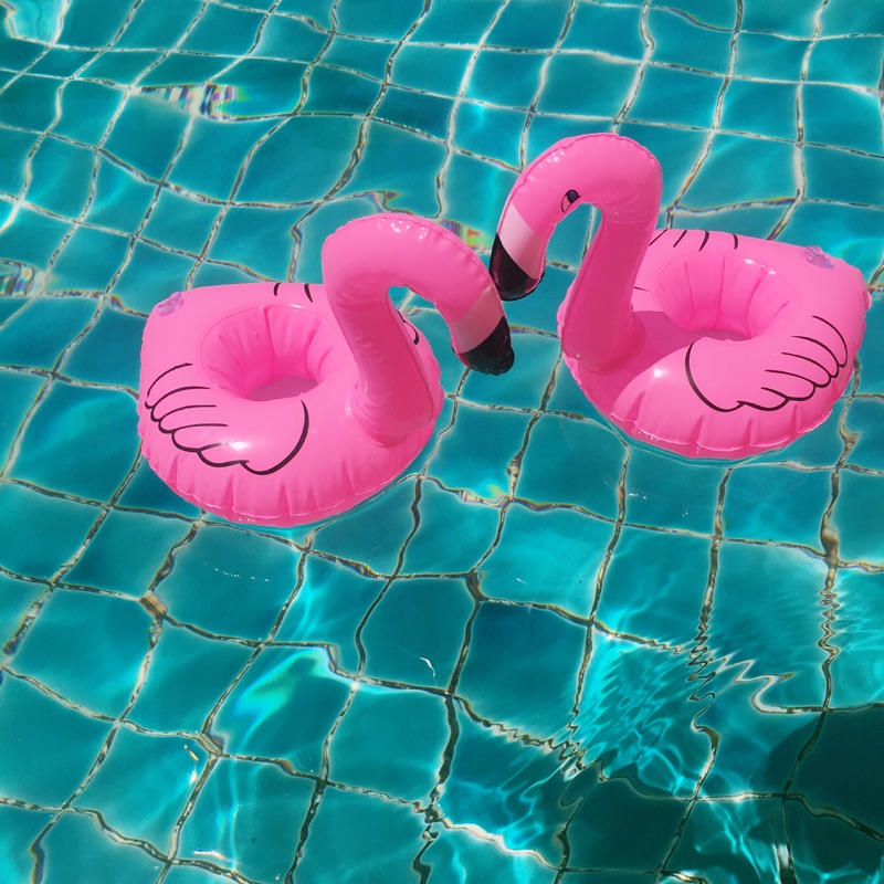 Wholesale 12pcs Mini Inflatable Flamingo For Wedding Party