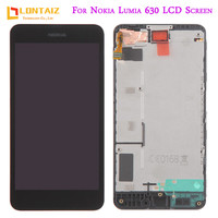 4 5 IPS LCD For NOKIA Lumia 630 Display Touch Screen For NOKIA Screen Lumia 630