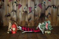 무스 antler 캠핑 휴일 크리스마스 나무 깃발 배경 컴퓨터 인쇄 신생아 사진 배경