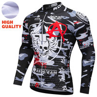 Cycling Jersey 2018 Ciclismo Ropa Long Sleeve Winter Thermal Fleece Bicycle Cycling Clothing Pro Team MTB Jersey Cycling Shirt