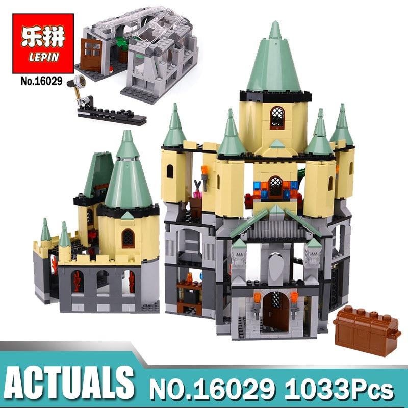 Lepin 16029 Movie Series The magic Hogwort Castle Model Building Blocks Bricks Toys for Children Gifts compatible Legoing 5378