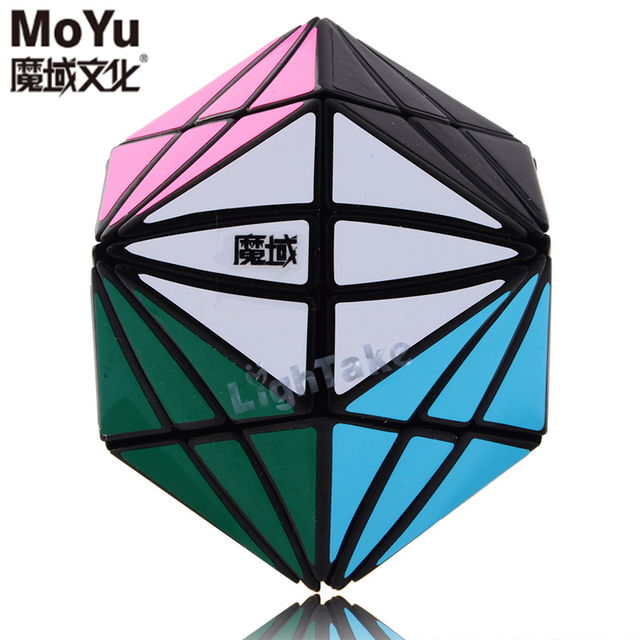Moyu Moyan I del Diablo Ojos Magic Speed Cubo Cubos Del Rompecabezas Para Niños Juguetes Educativos Juguete