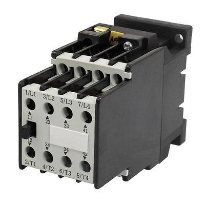 440V 50Hz Coil 5.2A Ie Three Pole 2NO 2NC 660V Ue 4KW AC Contactor