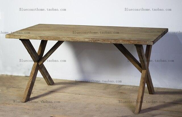American Village Loft Vintage Wood Tables Wood Furniture Eco