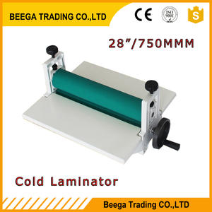 Wholesale Cold Laminator All Metal Frame 750mm Manual Laminating Machine Photo Vinyl Protect Rubber