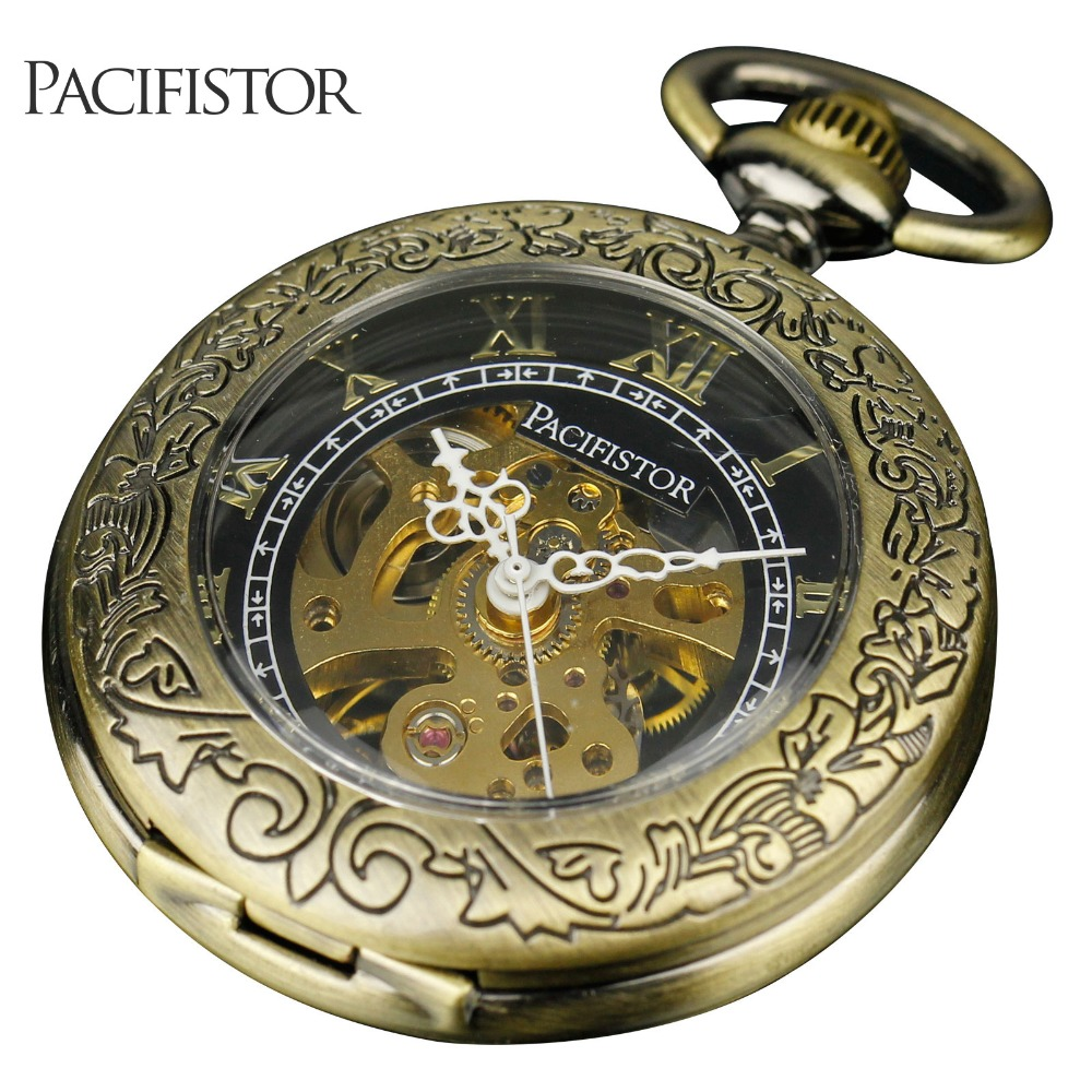 Aliexpress.com : Buy PACIFISTOR Pocket Watch Mens ...