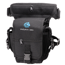 Multi Purpose Fishing Bag 19.5*12.5*9.5cm Waterproof Outdoor Leg Bag Canvas Portable Multifunction Fishing Tackle Bag Backpack
