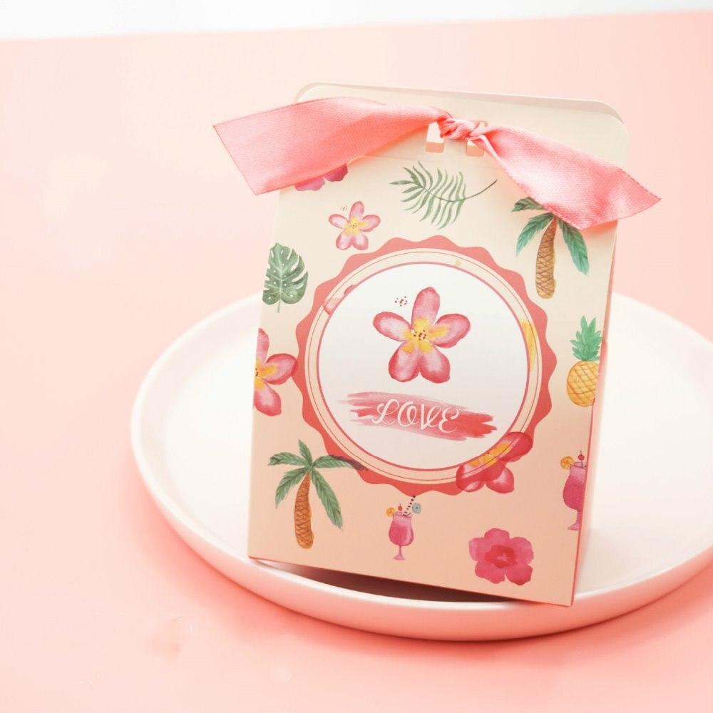 Aliexpress.com : Buy 50pcs sweet flower marriage Wedding Favors ...