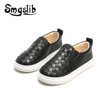 Kids Shoes Children Loafer Boys Casual Pu Leather Baby School Flat Sneaker 2019 Spring Autumn Girls Toddler